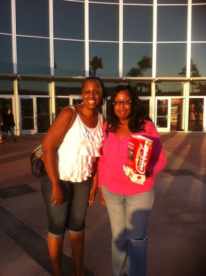 Me and my sis after seeing Gone with the Wind at Tyler Galleria