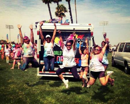 color run jump